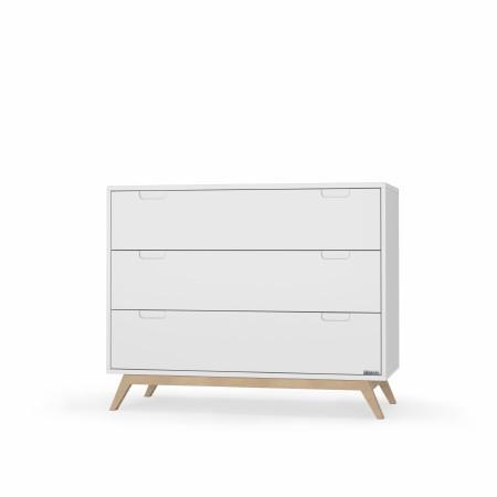 Village Dresser - White/Natural