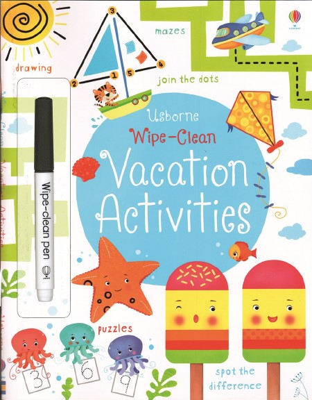 Wipe-Clean Vacation Activities