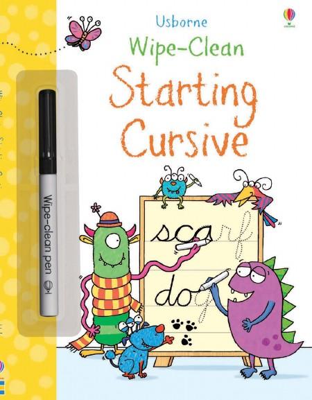 Wipe-Clean Starting Cursive