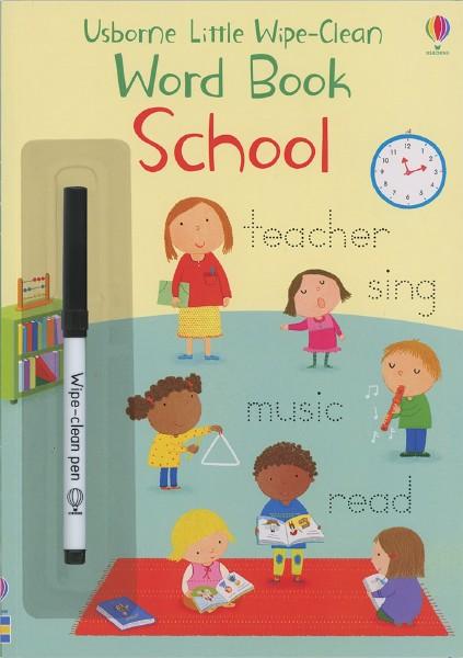 Little Wipe-Clean Word Book School