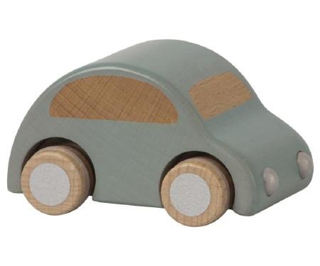 Wooden Car Light Blue