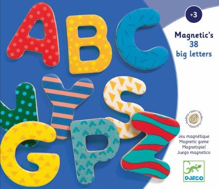 Wooden Magnetic - 38 Big Letter