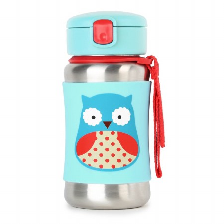 Zoo Stainless Bottle Owl