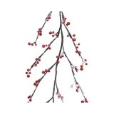 LED Snow Berry Garland 1.5m