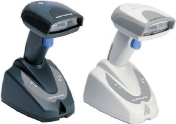 Aures QS 2D Handheld Barcode Scanner White USB