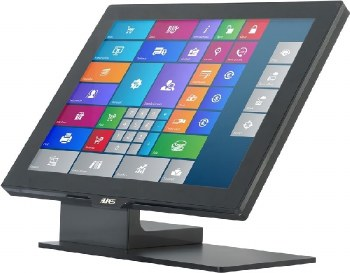 Aures Yuno Touchscreen Monitor Black