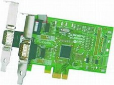 LP PCIe 1+1xRS232 1MBaud