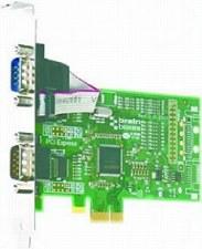 PCIe 2xRS232 1MBaud