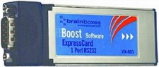ExpressCard 1 x RS232 1MBaud