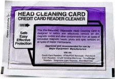 Honeywell Cleaning Card, 2x6in, box of 25 1-110101-00