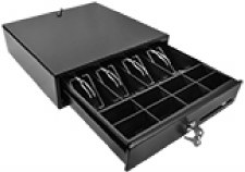 SBV-33x33 Compact Cash Drawer - Black SBV-33x33-B