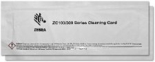 Zebra Card Cleaning Cards / ZC100/ZC300 [Pack of 105999-310