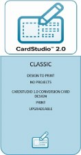 Zebra CardStudio 2.0 Classic / Physical License CSR2C-SW00-L