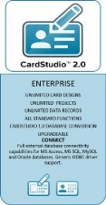 Zebra CardStudio 2.0 Enterprise / Physical License CSR2E-SW00-L