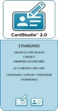 Zebra CardStudio 2.0 Standard / Physical License CSR2S-SW00-L