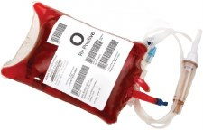 Zebra Media 8000T BloodBag TT Label (for Desktop 3008426