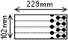 Zebra 8000T Extra Tuff 180 Tag 3006305