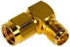 Psion Right Angle SMA Reverse Polarity Plug Jack AR1000