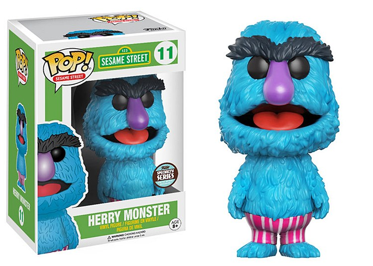 Pop Sesame Street Herry Monster Specialty Series Vinyl Figure