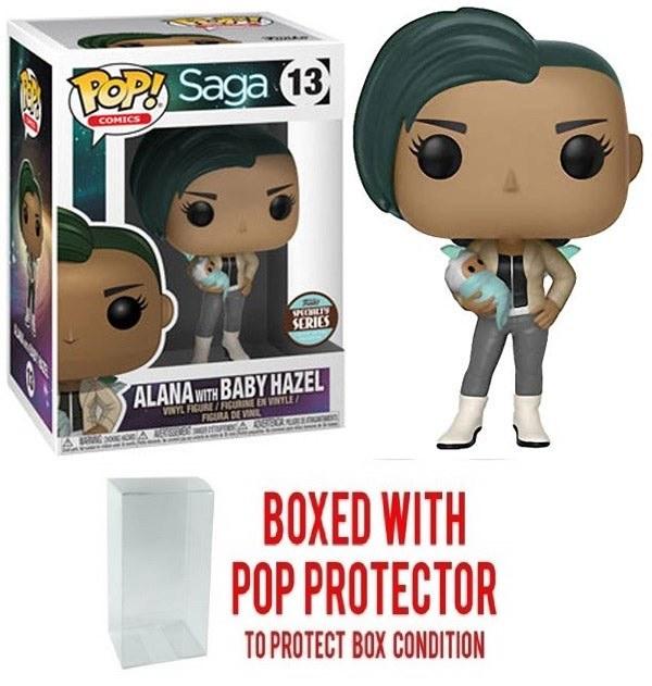 Pop Specialty Series Saga Alana with Baby Vin Fig