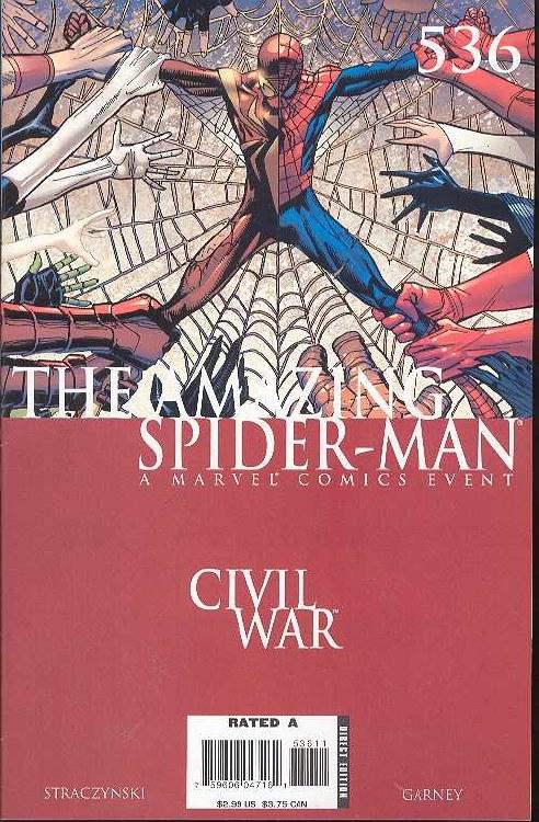 Amazing Spider-Man #536 Cw