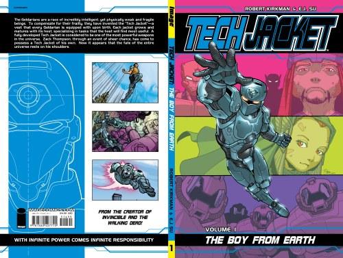 Tech Jacket TP VOL 01 Boy From