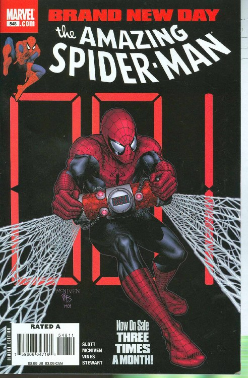 Amazing Spider-Man #548 Bnd