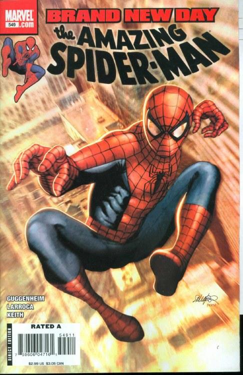 Amazing Spider-Man #549 Bnd