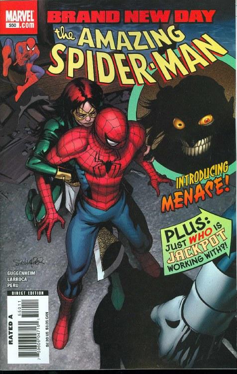 Amazing Spider-Man #550 Bnd