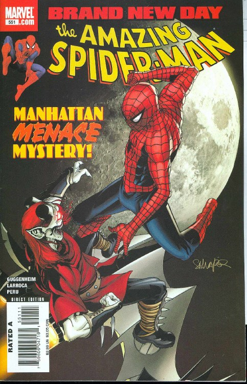 Amazing Spider-Man #551 Bnd