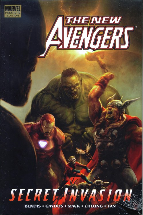 New Avengers Prem HC VOL 08 Secret Invasion Book 1