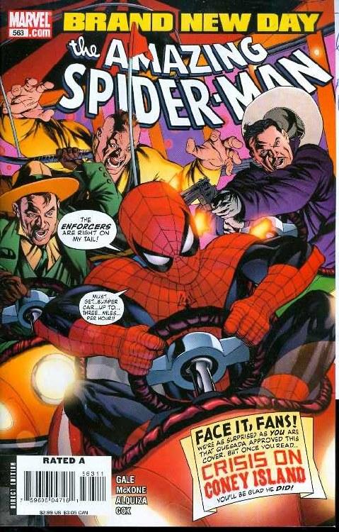 Amazing Spider-Man #563