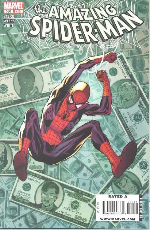 Amazing Spider-Man #580
