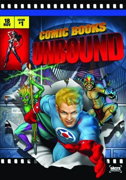 Comic Books Unbound Dvd (Net)