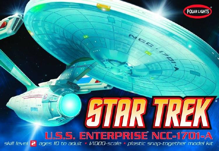 Star Trek Enterprise 1701-Refit 1/1000 Scale Model Kit