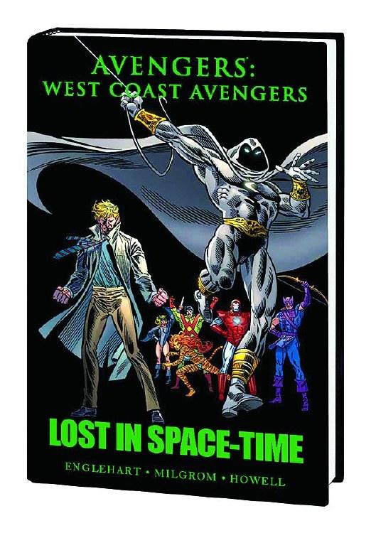 Avengers West Coast Lost Space Time Prem HC