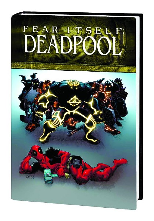 Fear Itself Deadpool Fearsome Four Prem HC