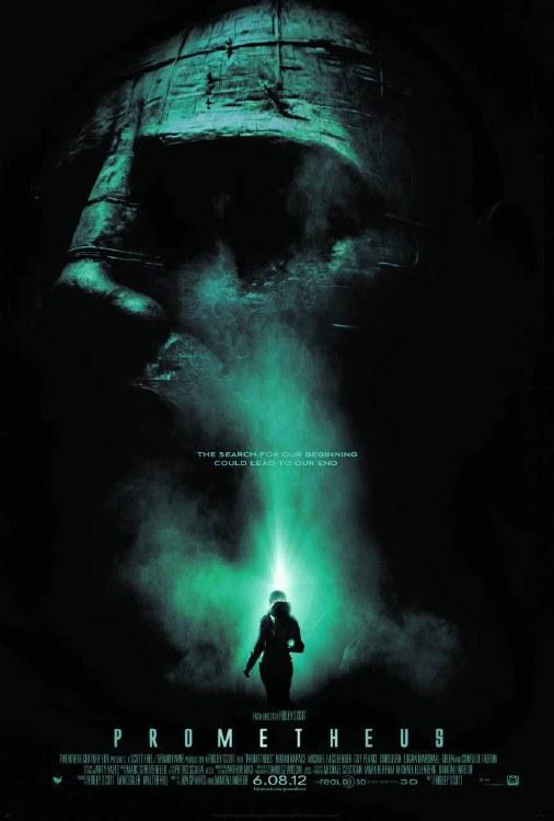Prometheus DVD
