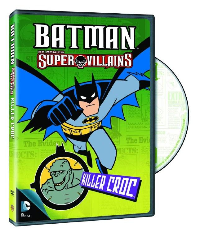 Batman Super Villains Killer Croc DVD