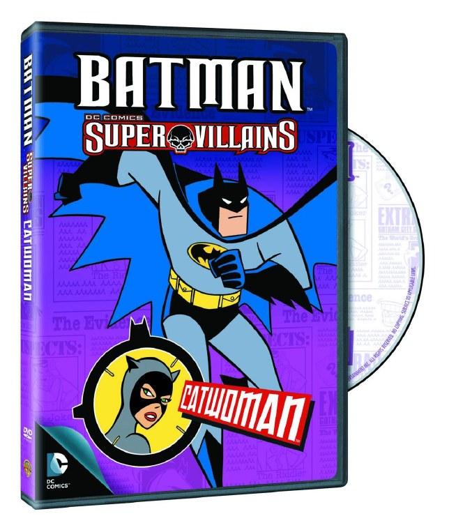 Batman Super Villains Catwoman DVD