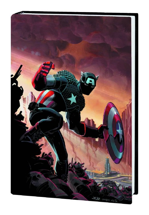 Captain America Prem HC VOL 01 Castaway Dimension Z Bk 1 Now