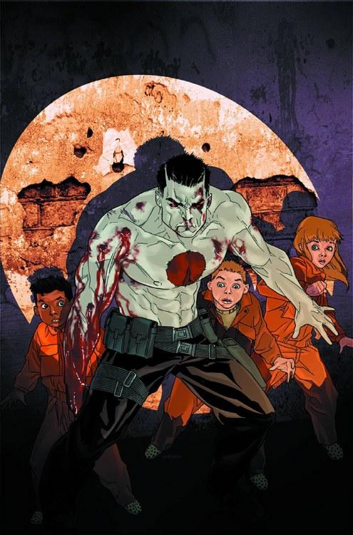 Bloodshot #12 Harbinger Wars
