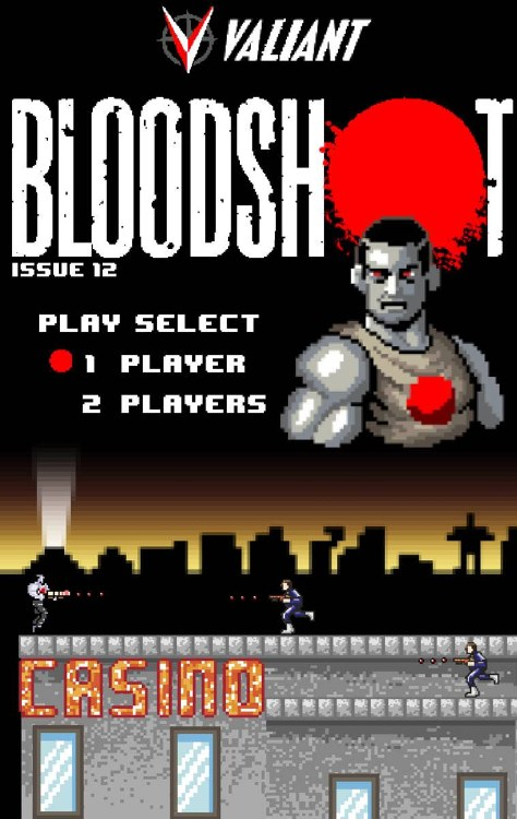Bloodshot #12A Harbinger Wars