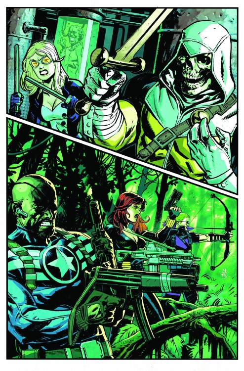Secret Avengers #6 Now