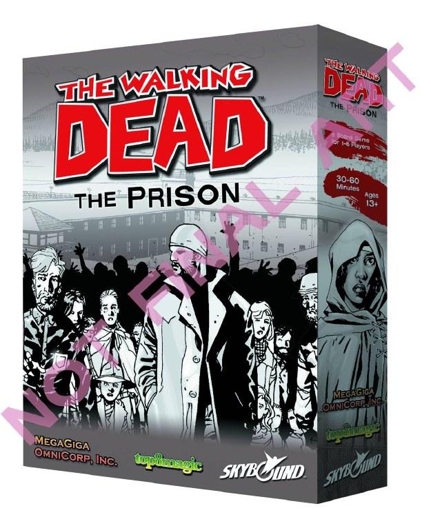 Walking Dead Prison Board Game