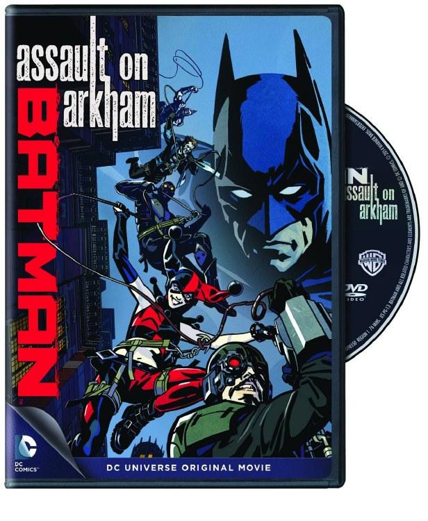 Dcu Batman Assault On Arkham D Savannah Comics