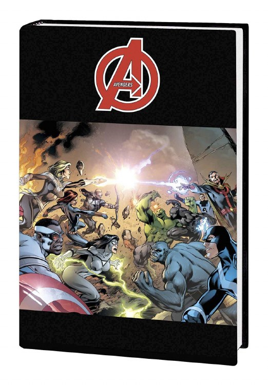 Avengers Time Runs Out Prem HC