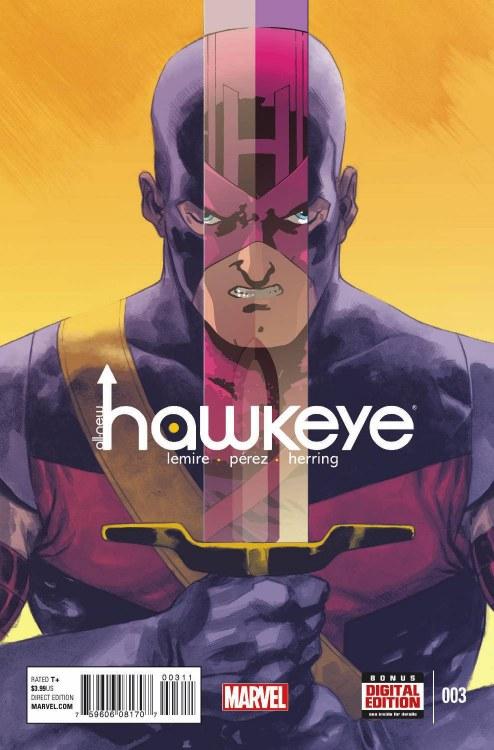 All New Hawkeye #3Comics-Marvel Now