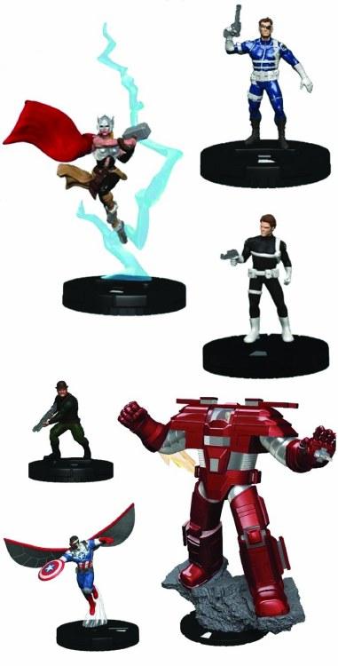 Marvel Heroclix Nick Fury Agent Shield Fast Forces 6 Pk (C:
