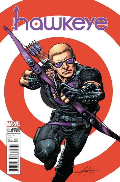 All New Hawkeye #1 Grell Classic Var